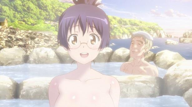「ばくおん!!」第4話先行カットが到着。北海道ツーリング旅行&温泉にGO!
