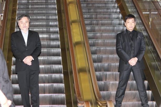 香川照之と黒沢清監督