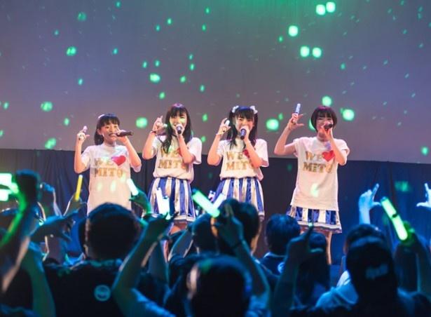 水戸ご当地アイドル(仮)が「水戸ご当地ちゃん!! LIVE りまproduce『茨の城と白鳥の湖』」公演を開催