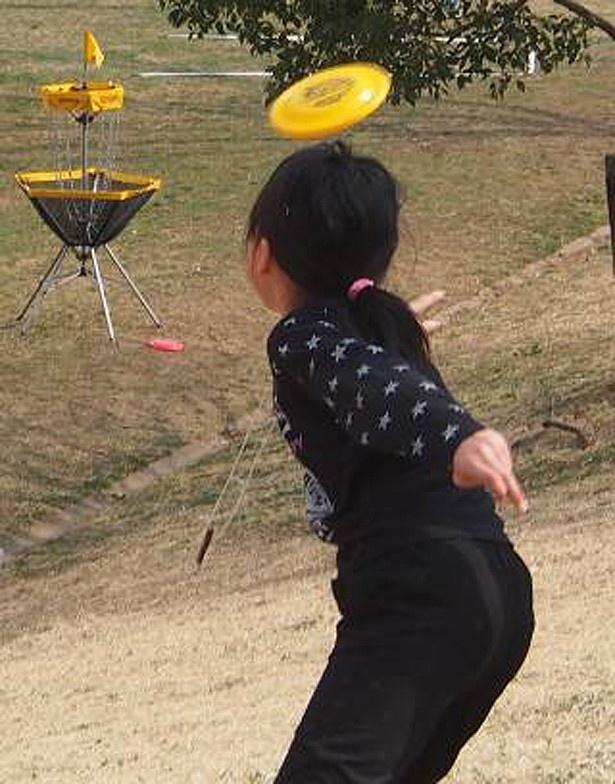 【写真を見る】ディスクゴルフにも挑戦可能だ
