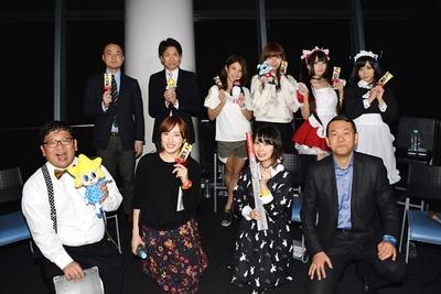 東京スカイツリーの天望デッキ「フロア350」にてニコニコ生放送を実施!