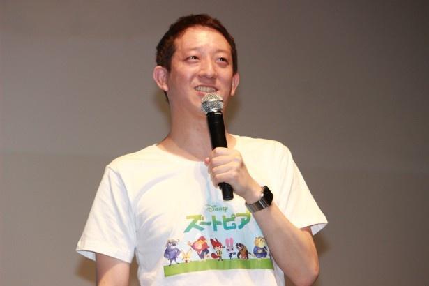 チーターのクロウハウザー役の声優を務めたサバンナ高橋茂雄