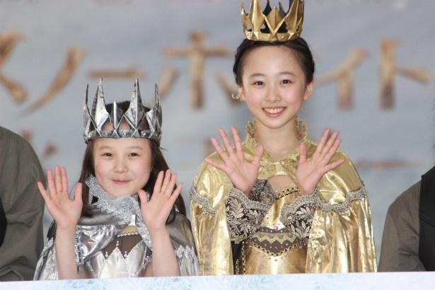 本田望結・紗来の美人女王姉妹の戴冠式が開催