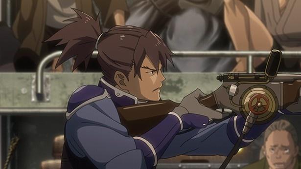 「甲鉄城のカバネリ」第3話先行カット解禁。甲鉄城に乗り込んだ生駒たちの行方は…!?