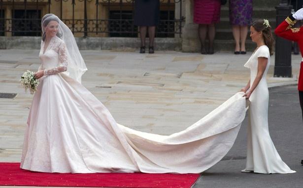 キャサリン妃のウェディングドレス