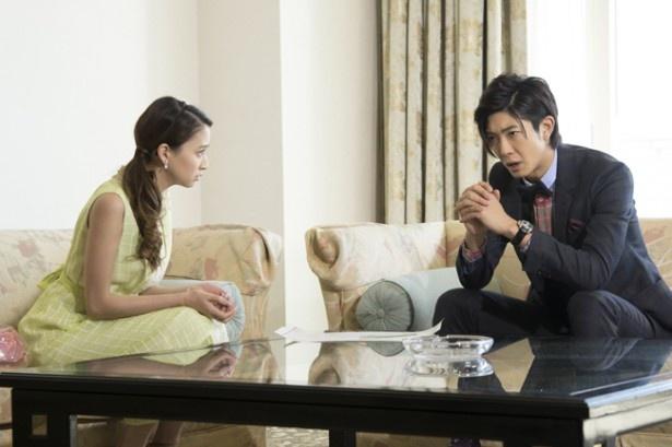 麗子に一途な吉本は桐生ゼネラルと白鳥グループによる下田のリゾート開発計画を調査する