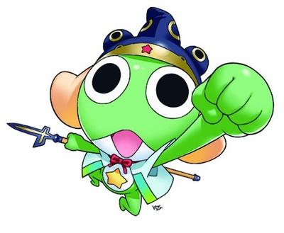 熊本市特別住民で熊本城一口城主という、意外な経歴も持っているケロロ軍曹