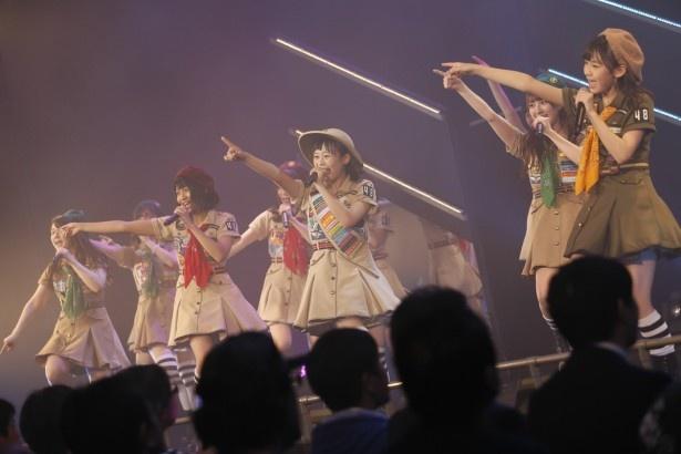 福岡市天神の西鉄ホールへと公演拠点を移したHKT48