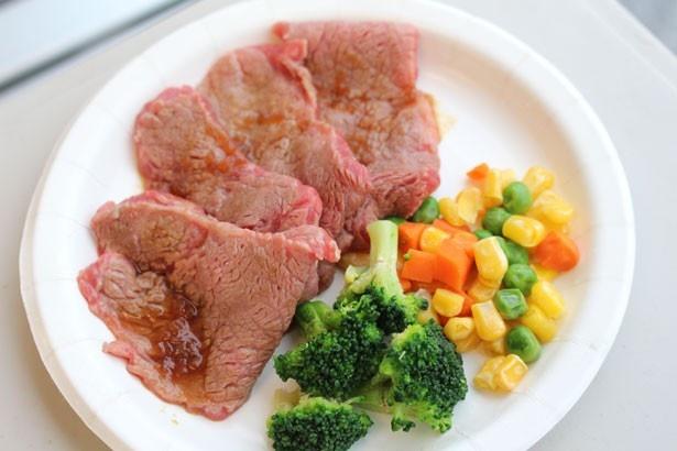 おいしく食べて九州を応援!熊本のブランド牛を使用した「あか牛ステーキ」(3000円)