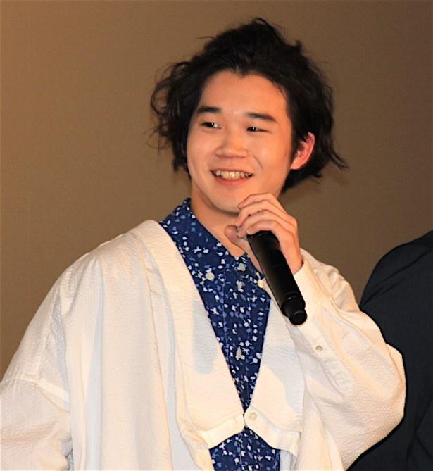 西田優征役を演じる矢本悠馬
