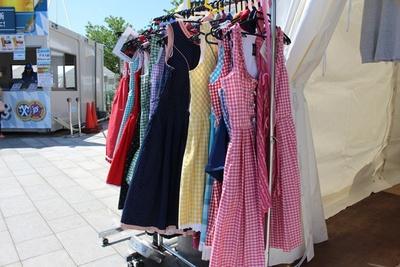 ドイツ民族衣裳をレンタルすれば、さらに気分が盛り上がる!(女性専用、1時間1000円~)