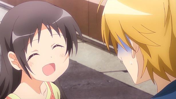 TVアニメ「三者三葉」第4話先行カット&あらすじが到着!葉子の前に謎の少年現る!?