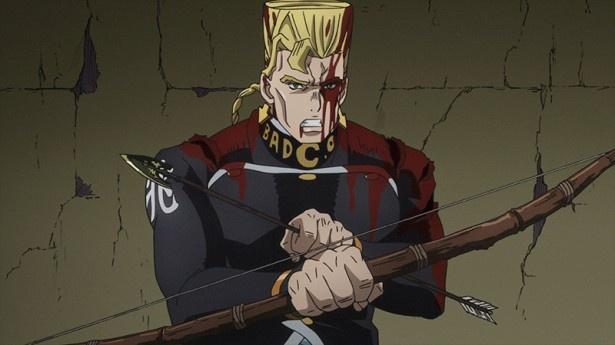 仗助と康一は、これ以上被害者が出ないよう、形兆が使っていた弓と矢を探して破壊することに