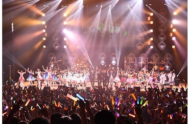 シークレットでハナヤマタも登場! アイドルアニメソングが咲き乱れたMONACAフェス2016