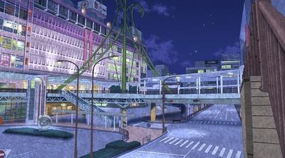 """【写真を見る】""""西ウド川市""""の中心地として、駅前がたびたび登場"""