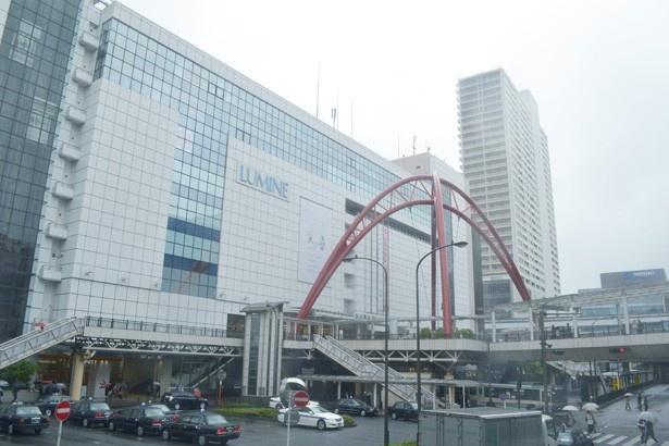 駅ビルとして「ルミネ」が入っている立川駅。周辺には高層マンションなども建ってきている (「立川駅北口」)