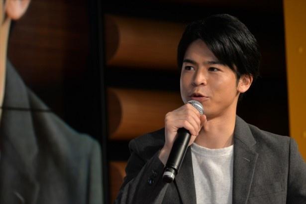 菅谷は撮影中のエピソードを告白