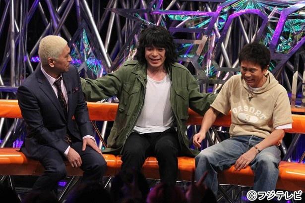 銀杏BOYZ・峯田和伸が、憧れのダウンタウンを前に、その熱い思いを伝える