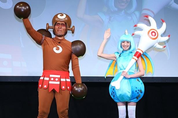 南明奈は、前回東京で行われた「城ドラフェスティバル2015」に続き2回目の登場