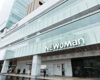 「バスタ新宿」のある新宿駅新南口に隣接する、NEWoMan。駅直結で利便性も高い