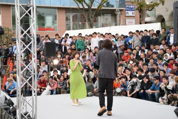 中村繪里子と江原裕理が登場してマチ★アソビ開会!【マチ★アソビ Vol.16】