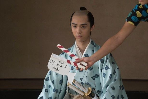 羽生は劇中で仙台藩藩主・伊達重村を熱演!