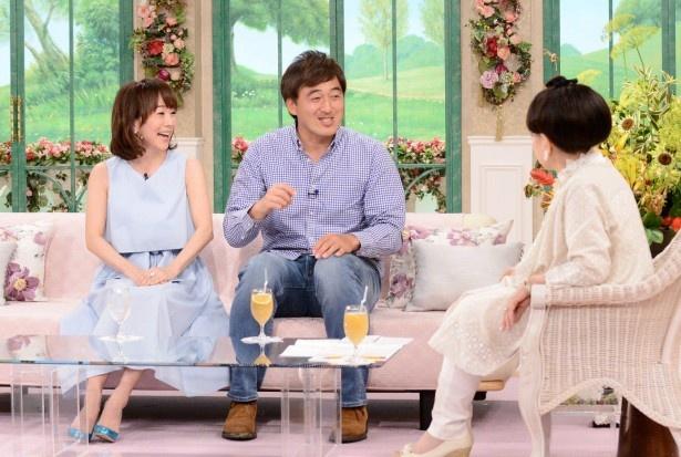 5月4日(水・祝)の「徹子の部屋」に出演する木佐彩子、石井一久