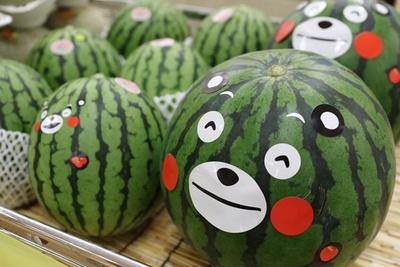 全国屈指の生産量を誇る、熊本県のスイカ。当日は小玉スイカも販売! ※写真はイメージ