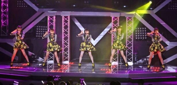 Juice=Juiceは現在、単独ライブを220公演行うホールコンサートツアー「LIVE MISSION 220」で全国を回っている