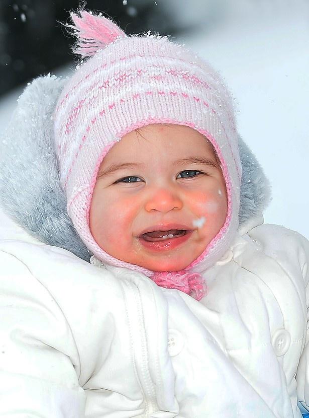 5月2日に1歳の誕生日を迎えたシャーロット王女