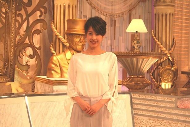 フリー後初のバラエティー番組の収録に臨んだ加藤綾子