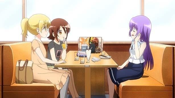TVアニメ「三者三葉」第5話先行カット&あらすじが到着。葉子さまはオネム!?