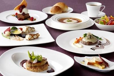 料理イメージ。洋食コース