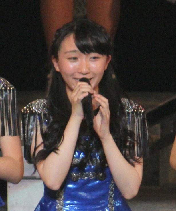 歌唱賞の高瀬くるみ「2番目の登場で緊張したけど、ほめてもらえてうれしい」