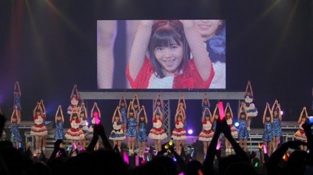 「彼女になりたい」の披露では、浜浦彩乃(こぶしファクトリー)への「はまちゃん、ちょうだい!」のコールがファンから投げかけられた