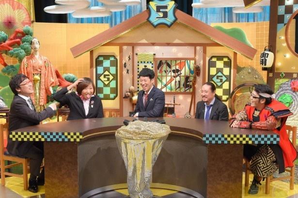 「ハッキリ5~そんなに好かれていない5人が世界を救う~」に南海キャンディーズ・山崎静代(左から2番目)が初登場!
