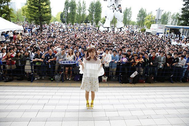 「かぁつ!」楠田亜衣奈がファンに喝入れ!2ndアルバム発売記念「くっすんサポーター応援会」レポート