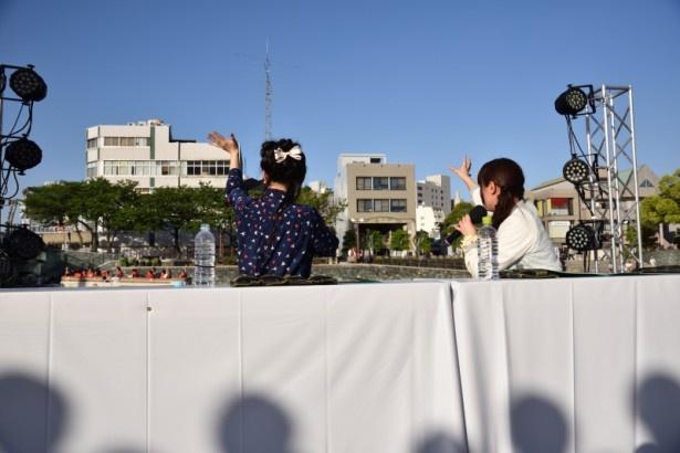 山本希望と優木かなが徳島でお兄ちゃん&お姉ちゃんを増やす!ぺけラジ公開録音【マチ★アソビ Vol.16】