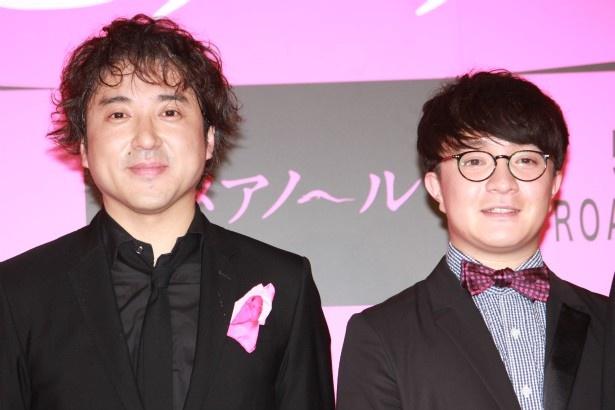 『ヒメアノ~ル』で森田剛と競演した濱田岳とムロツヨシ