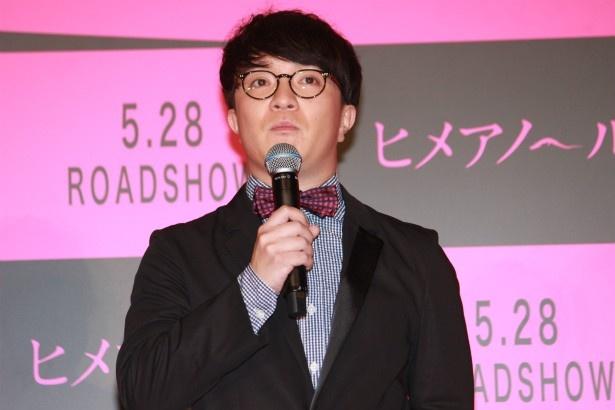 岡田進役の濱田岳