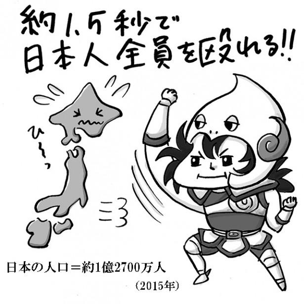 約1.5秒で日本人全員を殴れる!!