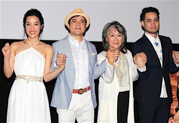 【写真を見る】奈良橋洋子監督と川平慈英を感激させた中居正広の振る舞いとは?