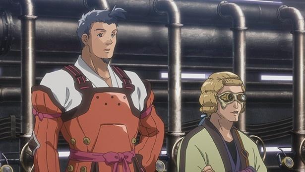 「甲鉄城のカバネリ」第5話先行カット解禁。無名が窮地に!?