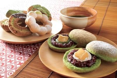 わらびもちや抹茶を組み合わせたミスドの「和ドーナツ」シリーズ(全7種)