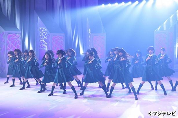「MUSIC FAIR」で欅坂46が話題の「サイレントマジョリティー」を披露する