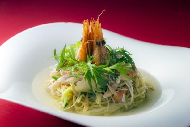 中華料理最優秀賞「海鮮スープ焼きそば」