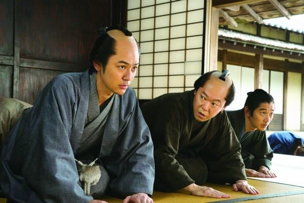 十三郎の弟・浅野屋甚内(妻夫木聡)も仲間に加わる