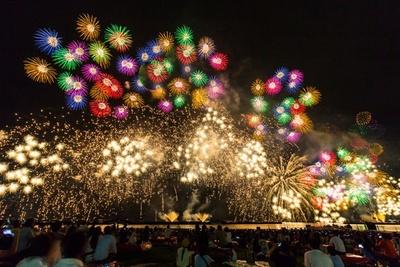 関西を中心に全80の花火大会を紹介