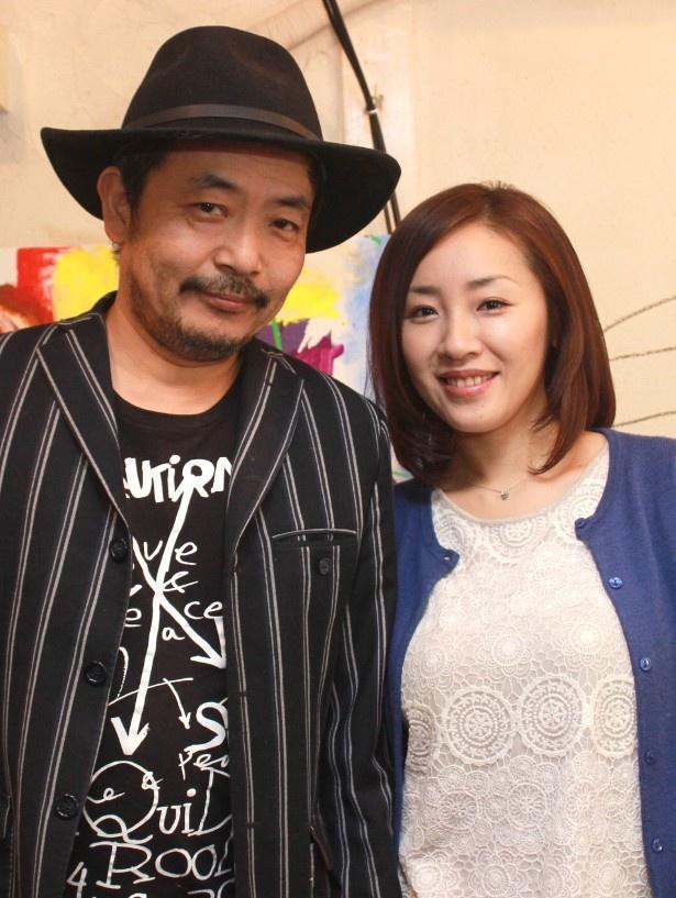 『ひそひそ星』の園子温監督と妻で主演女優の神楽坂恵