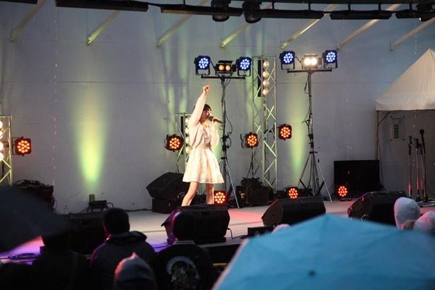 上野優華が徳島で凱旋ライブ!【マチ★アソビ Vol.16】